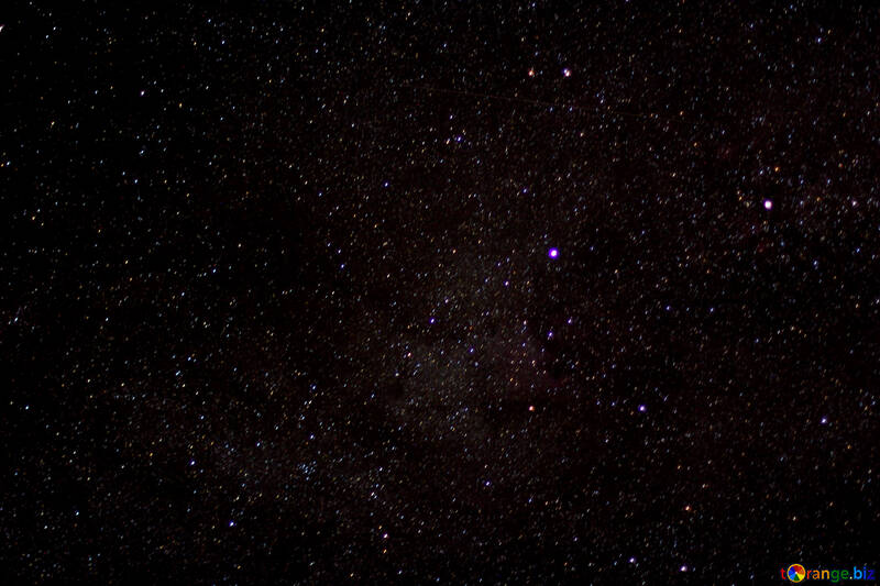 The stars in the night sky №44707
