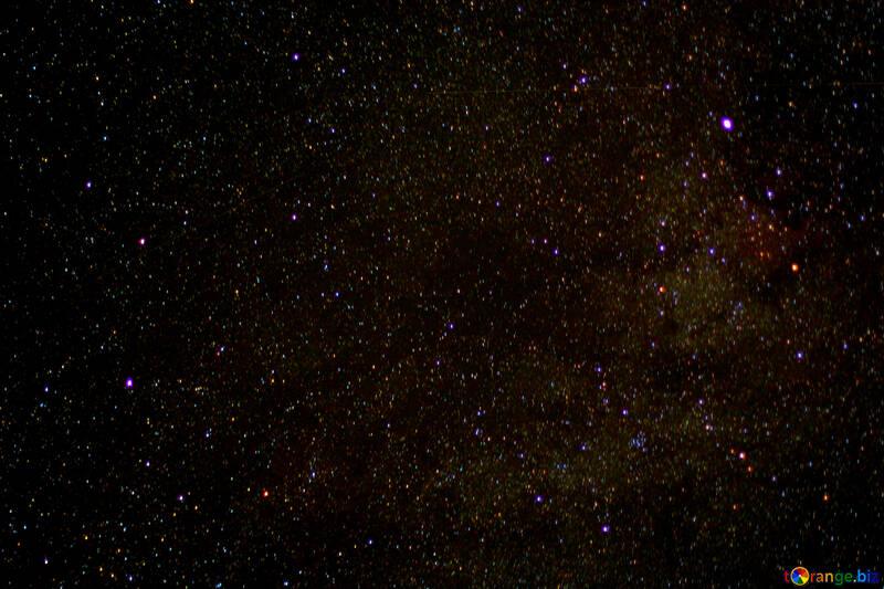 The stars in the night sky №44708