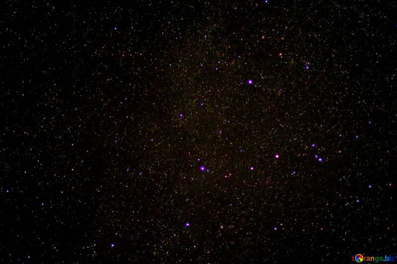The stars in the night sky №44709
