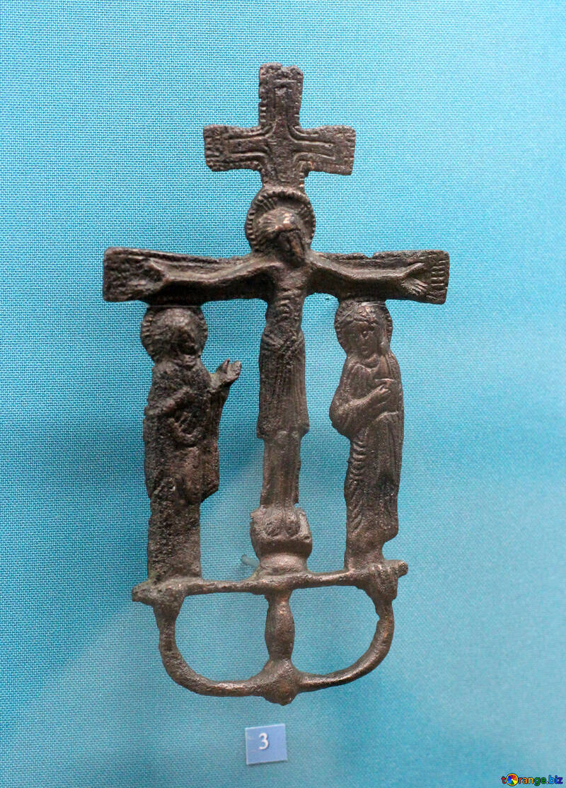 Cross altar bronze №44016