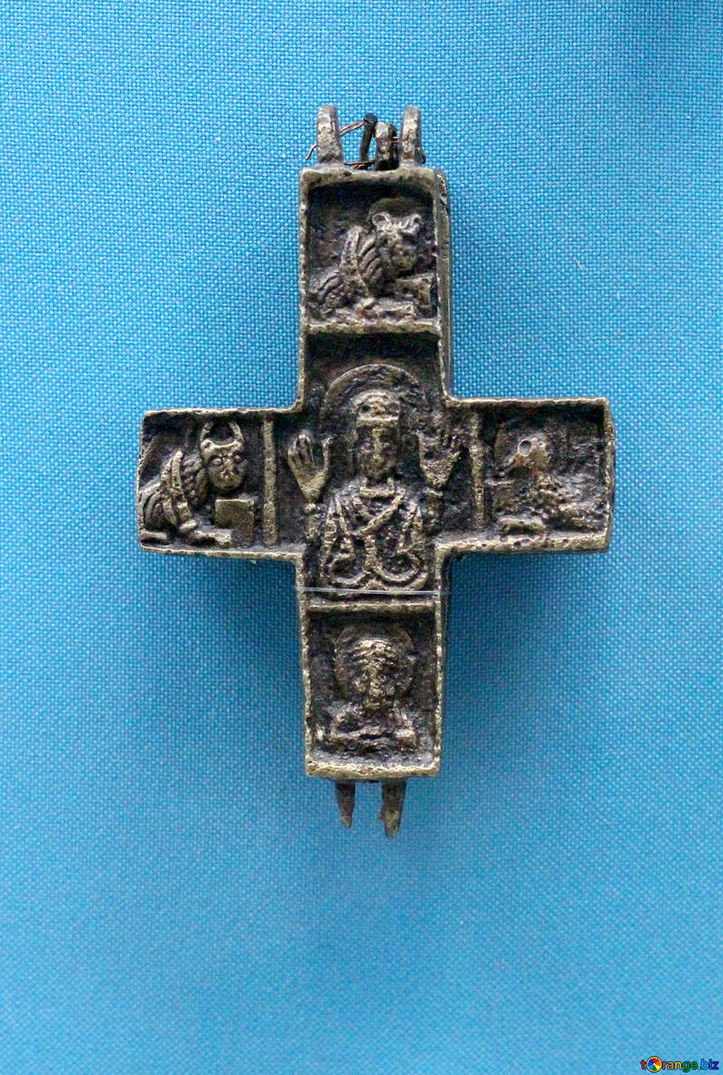 The old crucifix with holy №44018