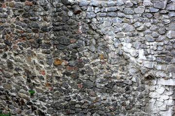 Vecchio muro di pietra trama №45756