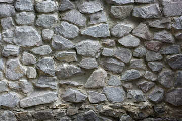 A large stone wall texture №45734