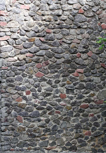 Stone wall texture №45770