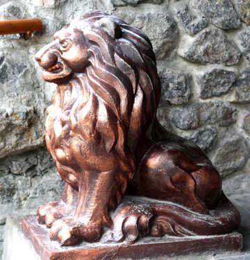 Skulrtura lion №45588