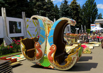 Installation of children`s attractions №46717