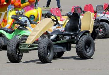 Children pedal cars №46755