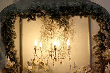 Beautiful chandelier №46983