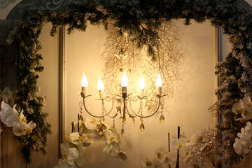 Beautiful retro chandelier №46985