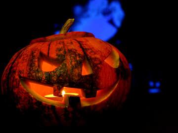 Halloween pumpkin night №46195