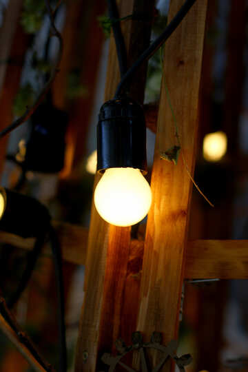 Vecchia lampada ad incandescenza №46941