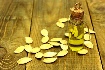 The oil from pumpkin seeds №46203