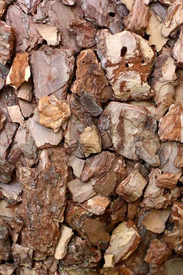 Mulch aus der Rinde eines Baumes №46967