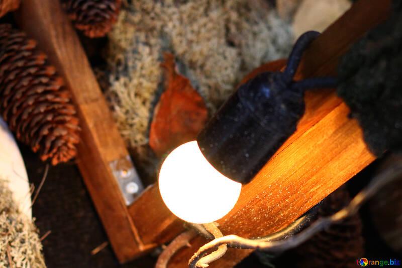 Декор лампа №46936