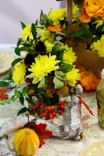 Autumn bouquet №47161