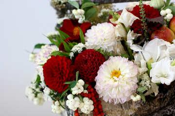 Autumn flowers composition №47037