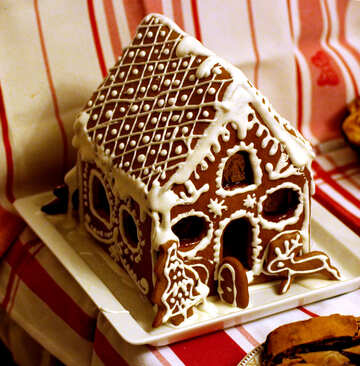 Gingerbread house №47971