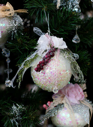 Beautiful toy on the Christmas tree №47673