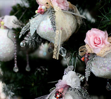 Beautiful toy on the Christmas tree №47674