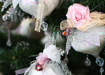 Beautiful toy on the Christmas tree №47675