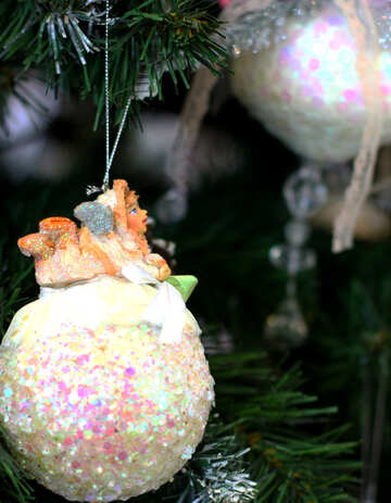 Beautiful toy on the Christmas tree №47676