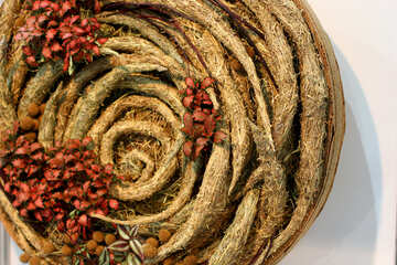 Christmas decorations from natural materials №47184