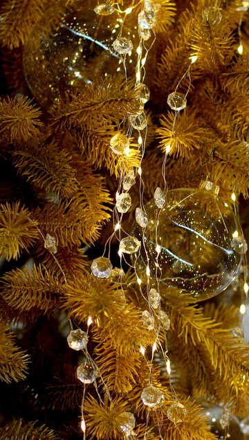 Christmas lights on a Christmas tree №47753