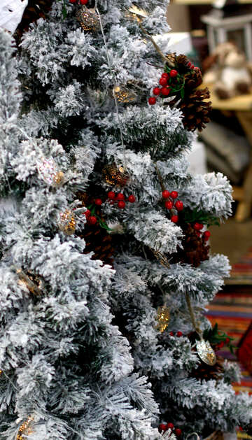 Beautiful Christmas tree №47627
