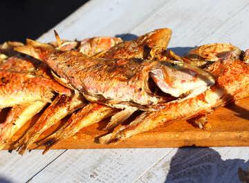 Roasted sea fish №47523