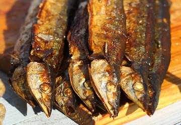 Smoked sea fish №47525