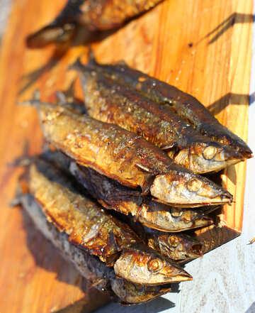 Smoked sea fish №47526