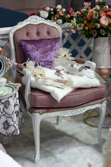 A cozy armchair №47115