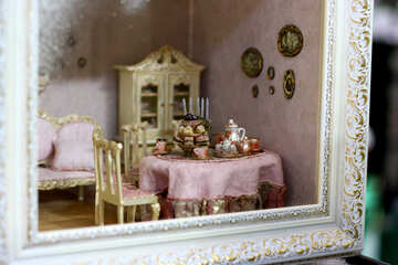The kitchen in the doll house №47063
