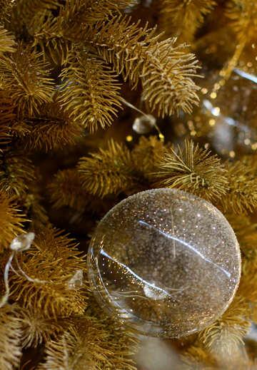 Glass balls on Christmas tree №47737