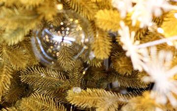 Glass balls on Christmas tree №47744