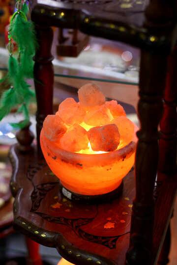 Salt lamp №47052