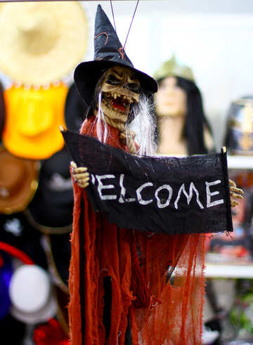Witch Halloween Invitation №47254