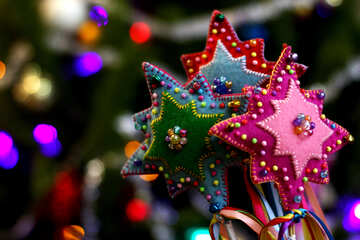 Christmas star decoration handmade №47955