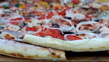 Large Pizza with sausage and onions №47426