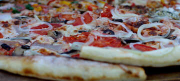 Large Pizza with sausage and onions №47428