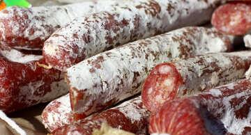 Jerked smoked sausage №47468