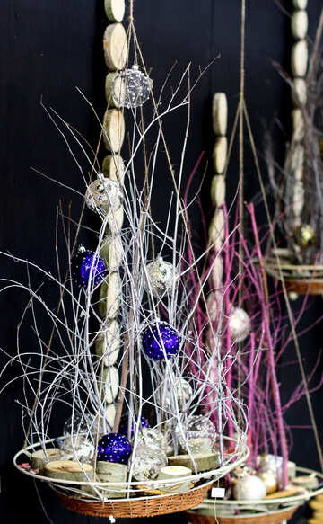 Decorations for new year suspension №47622