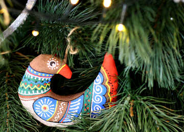 Christmas Decoration Bird №47833