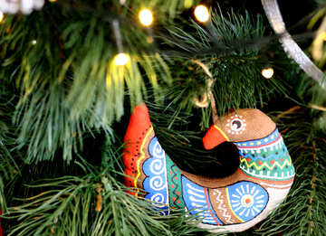 Christmas Decoration Bird №47834