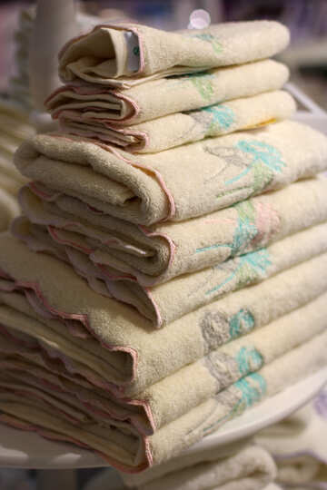 A stack of towels №47139