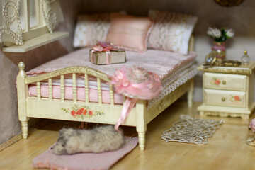Interior dollhouse №47064