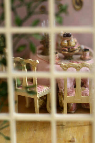Kitchen in house for dolls №47110