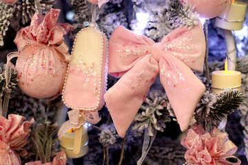 Christmas fabric toys №47841
