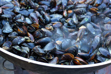 Mussels fried №47511