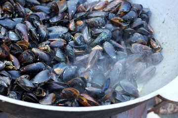 Mussels fried №47508